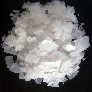 caustic soda in the form of flakes is very popular