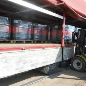 MC-70 bitumen loading from Iran